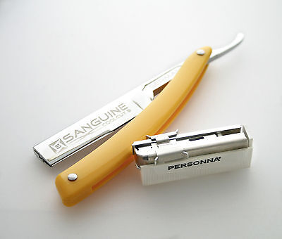 Straight Shaving Razor, Cut Throat Shaving Razor, Coolcut 9, Personna Blades