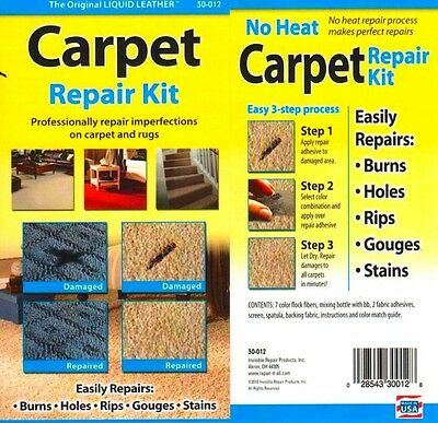 Quick 20,20 Minute Carpet Repair Kit. Free Delivery
