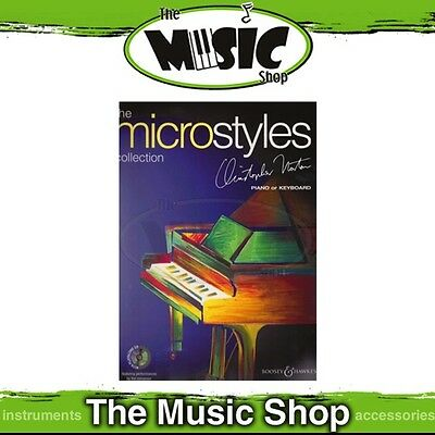 New The Full Microstyles Collection by Christopher Norton Piano Music Book