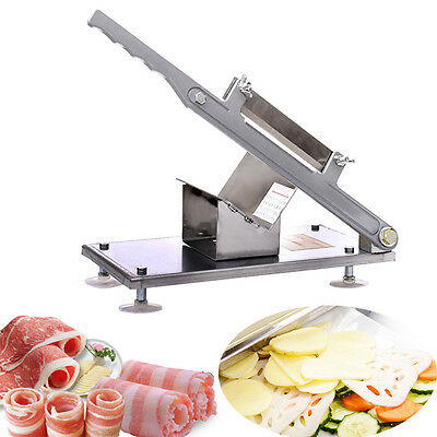 Commercial Manual Beef Chipper Vegetable Cutter Stainless Steel Meat Roll Maker