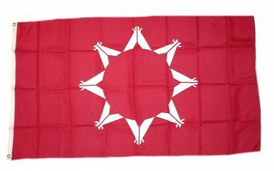Flagge / Fahne Indianer Oglala Sioux Hissflagge 90 x 150 cm