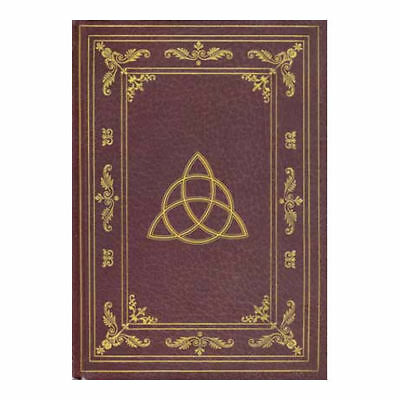 "Triquetra & Celtic Knots 8-1/2"" Hardcover Notebook Journal Diary Book of Shadows"