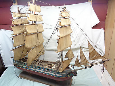 (2) Antique Vintage Large wooden sailing ships SPECIAL