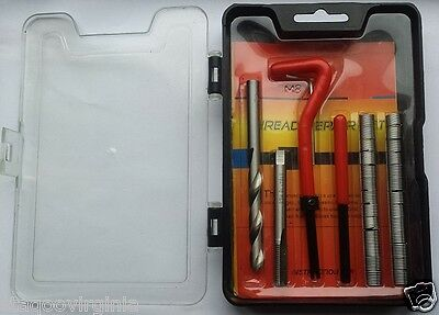Thread Repair Kit Set M8 x 1.25 Helicoil Inserts Heli-Coil 25 pieces