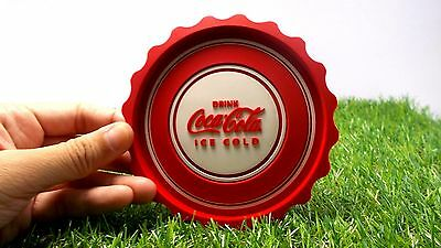 Cola Coca Coasters Set 3 Rare Thai Coke Vintage Limited Rubber Bottle Cap Shape