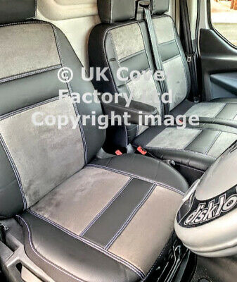 Mercedes Sprinter / Vw Crafter Van Seat Cover Quad Pvc Leather  P150A In Stock!!
