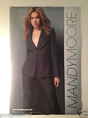 Mandy Moore 2001 Self Titled Promotional Poster Original