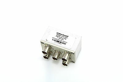 Mini-Circuits 4-Way 1-200 MHz Power Splitter/Combiner ZSC-4-1-75