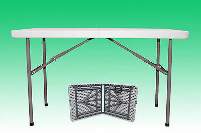 4Ft Folding Collapsible Portable Pop Up Table Stall Event Car Boot Catering