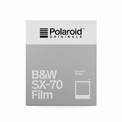 Impossible PRD4513 Black and White Instant Film, Classic White Frame for SX-70