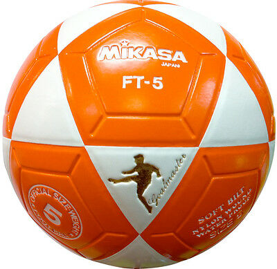 MIKASA FT5 Orange Goal Master Soccer Ball Size 5 Competition Game Ball