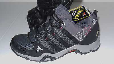 New Adidas Outdoor AX2 GTX WP Boots Shoes Hiking Trail Women 7 Blue & Purple