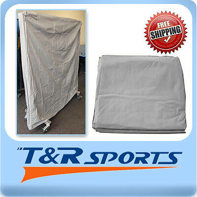 Indoor Cover Weatherproof Upright Flat Table Tennis Table UV Resistance