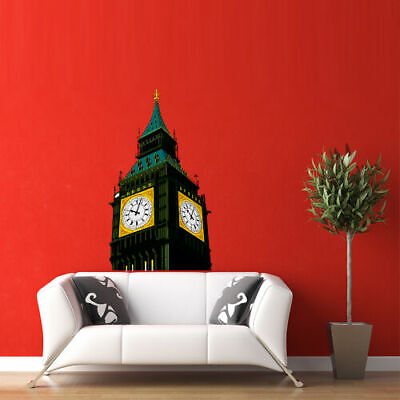 Wall Stickers Vinyl Decal I Love London England Great Britain Big Ben z1833