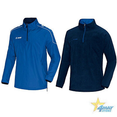 Jako Wendetop Regenjacke Fleecejacke Team Kinder Royal Gr. 128 - 164