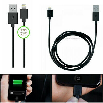 NEW 1.2M Lightning USB Charge Data Cable For iPhone XS X XR 8 7 6S 6 Plus iPad