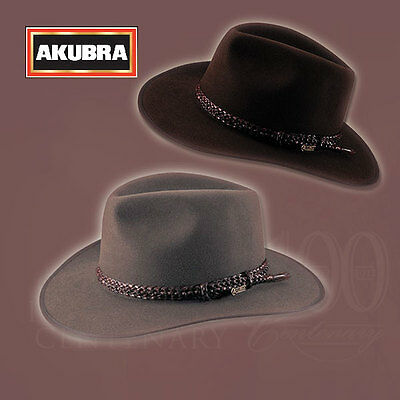 AKUBRA Hats Aussie Icon Premium Hat Collection LAWSON Heritage Fawn / Loden