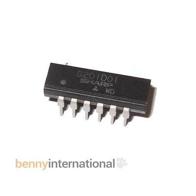 S201D01 SHARP SOLID STATE RELAY 16-Pin Dip SSR- AUS STOCK
