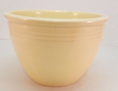 Vintage Fiestaware Ivory Mixing Bowl 2 Fiesta Old Ivory #2 Nesting Bowl 111539A