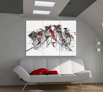"Guild Wars 2 Huge Art Giant Poster Wall Print 39""x57"" px82"
