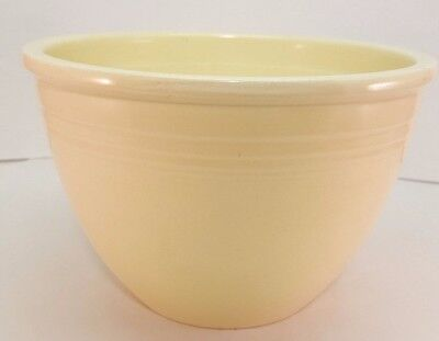 Vintage Fiestaware Ivory Mixing Bowl 4 Fiesta Old Ivory #4 Nesting Bowl 111545a