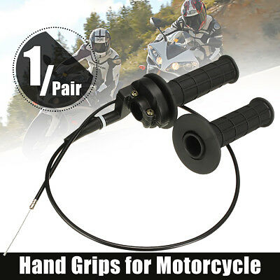 Twist Throttle Handlebar Housing Tube Hand Grip Cable Pro ATV Quad Dirt Pit Bike