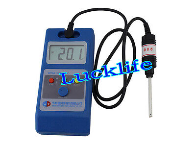 LCD Gaussmeter Tesla Meter Surface Magnetic Field Tester w/ Ns Function WT10A H