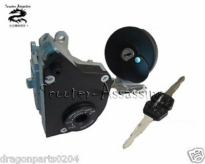 REPLACEMENT FULL LOCK SET FUEL CAP for YAMAHA XC50 VINO CLASSIC  5ST-WH202-01-00