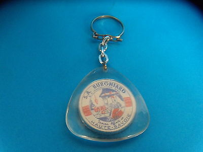Porte cle - FROMAGE - S.A BURGNARD - BLASON PICARDIE - ANNEES 1960