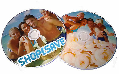 Personalised Your Photos, Logos, Design DVD-R or CD-R Printed Discs