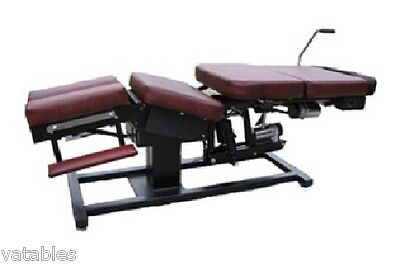 "Chiropractic Table Flexion & 5 "" Electric Plane Distraction"