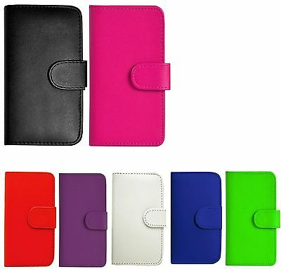 Pu Leather Wallet Case Cover For Various Mobile Phone