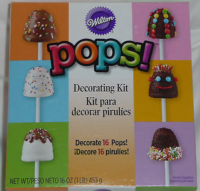 Wilton Cake Pop Decorating Kit : Wilton Cake Pops Book Stick Sweets Cookie Brownie Pop