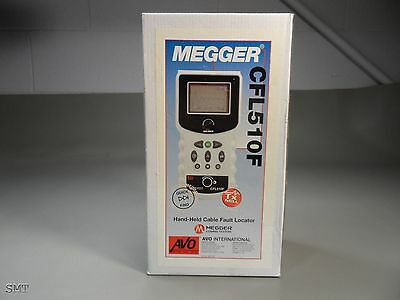 (1x) Megger AVO INTERNATIONAL, CFL510F Hand-Held Cable Fault Locator
