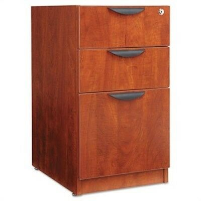 Valencia 2 Box/1 File Full Pedestal, 15-5/8w x 20-1/2d x 28-1/2h, Medium Cherry