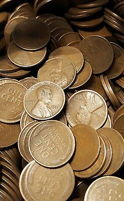 Lincoln Wheat Cent Pennies Lot Pre 1940 Teens Twenties Thirties 1909-1939 Mixed