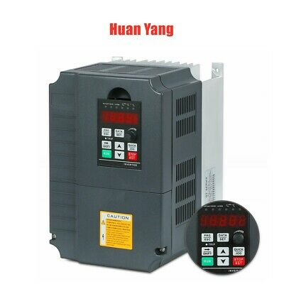 Top 220V  7.5Kw 10Hp 34A Vfd Variable Frequency Drive Inverter Ce Quality