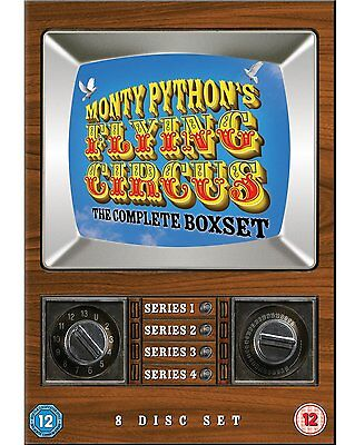 Monty Python's Flying Circus The Complete Boxset DVD 1969 1-4 Series