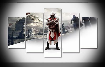 6722 ezio warriors game Poster print on canvas framed Art home decoration NEW