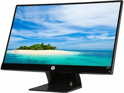 "HP 25VX 25"" 7ms (GTG) IPS HDMI Widescreen LED Monitor IPS Panel with an Ultra-wi"