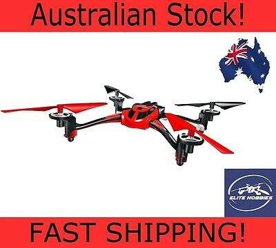 Dromida Type FAST Drone Awesome Aviator 8927 2.4GHz RC Quadcopter RTF - RED 2016