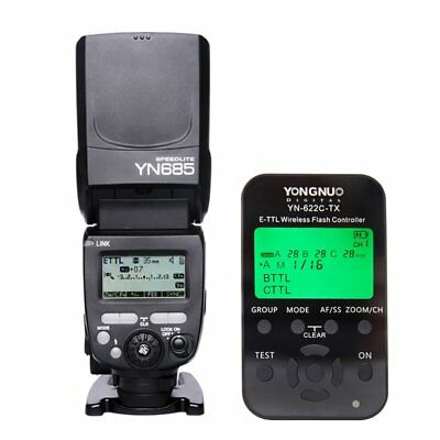 Yongnuo YN622C-TX Transceiver + YN685 Wireless Flash Speedlite Set for Canon UK