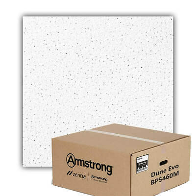 Armstrong Dune Board Edge Suspended Ceiling Tiles - Box Of 16
