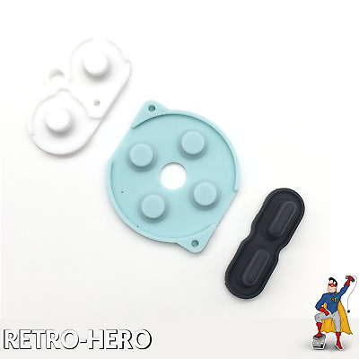NEW Gummipads conductive Buttons A-B, D-pad for Game Boy Pocket GBP  Silicone