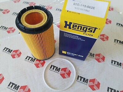 Bentley Continental - GT Coupe - GTC - Flying Spur - OEM Hengst  W12 OIL FILTER