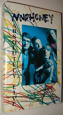 MUDHONEY / ABSOLUTELY LIVE - RARE ORIGINAL VHS Germany 1991 Stud!o K7  MINT!!!