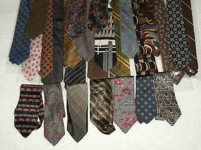"25 Lot Men 3.75"" Ties Poly SILK Striped Paisley 56"" NEW  USA SELR Wholesale TL2"