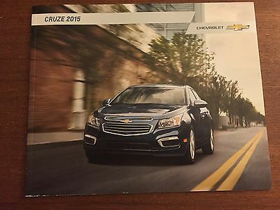 2015 Chevy Cruze 32-page Original Sales Brochure