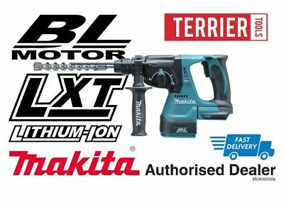 Makita DHR242Z 18V Li-Ion Cordless Brushless Rotary Hammer SDS+ Body Only (BHR24