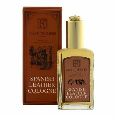 Geo F Trumper Small Spanish Leather Atomiser Cologne